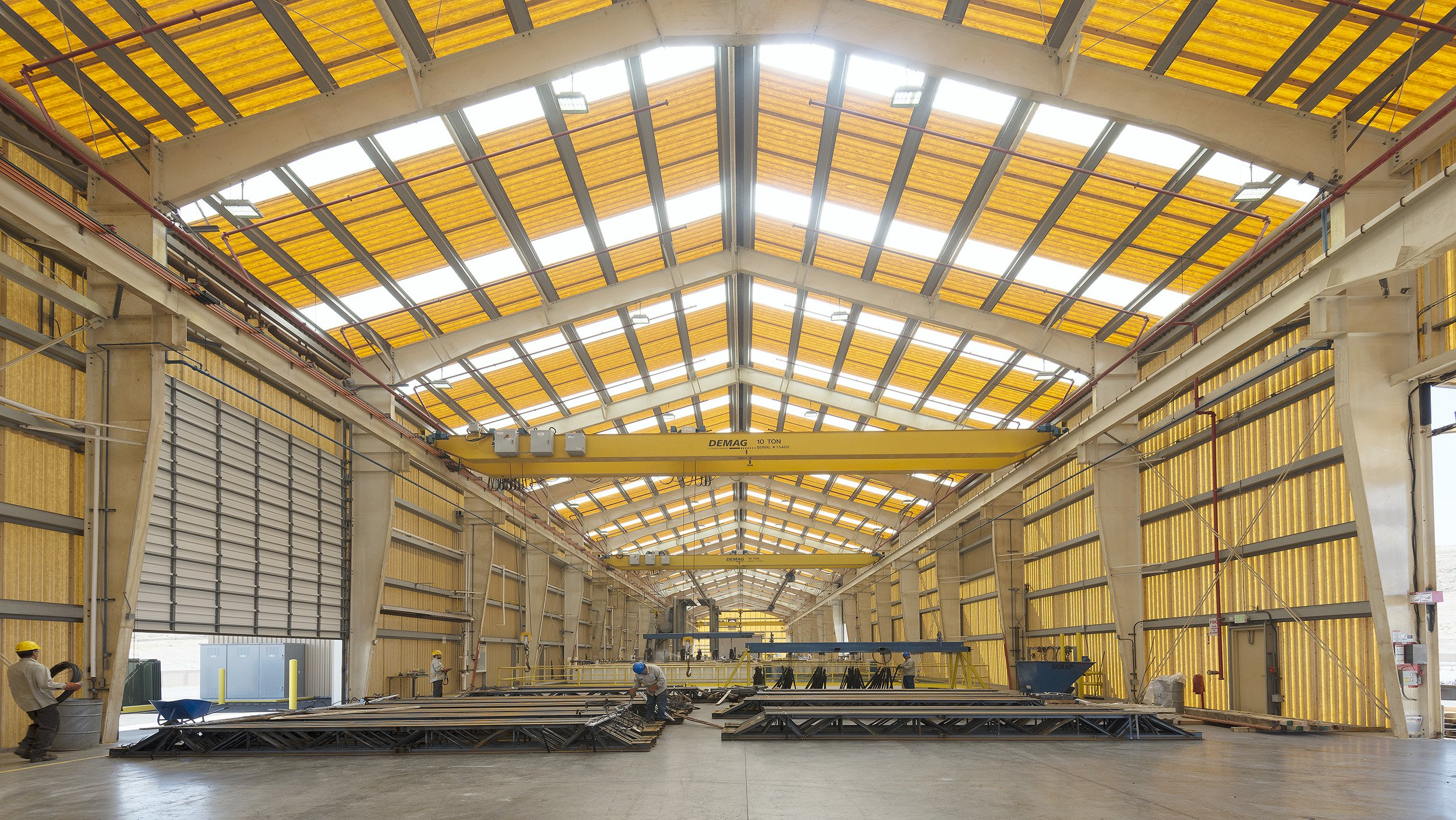 The TDG team designed an eco-friendly, hot-dip galvanizing plant in Reno for AZZ